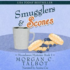 Book Review: Smugglers & Scones by Morgan C. Talbot