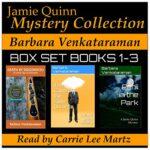 Book Review: Jamie Quinn Mystery Collection: Box Set Books 1-3 by Barbara Venkataraman