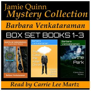 Book Review: Jamie Quinn Mystery Collection: Box Set Books 1-3 by Barbara Venkataraman