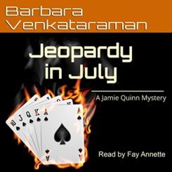 Book Review: Jeopardy in July by Barbara Venkataraman