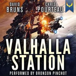 Book Review: Valhalla Station by Chris Pourteau, David Bruns